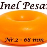 Inel Pesar Nr. 2 - 68 mm - cauciuc - Pesary ring