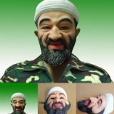 Masca Osama Bin Laden Halloween petrecere tematica bal mascat terorist +CADOU! - Masca carnaval, Marime: Marime universala, Culoare: Din imagine