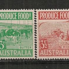 Australia.1953 Produse agricole-streifuri CD.192 - Timbre straine