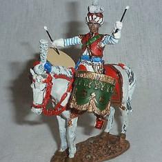 2778.Calaret din plumb - Drummer Napoleon`s Imperial Guard Mameluks - 1810