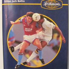 CY - ROTHMANS Football 1993 - 94 (Fotbalul Britanic & International 1993 - 94)