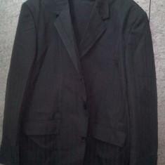 Costum de gala barbati Giorgio Armani - Costum barbati Giorgio Armani, Marime: 60, Culoare: Negru, 3 nasturi, 60 sau mai mare