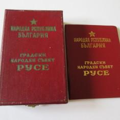 RAR! ORDINUL ARGINT/ARGINTAT MAREA STEA NATIONALA RUSE 1968 CUTIE ORIGIN.+BREVET, Europa