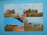 HOPCT 11529  MUNTII BUCEGI - CABANA ...JUDETUL PRAHOVA [CIRCULATA], Printata