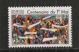 Franta.1990 100 ani Ziua Muncii-1 Mai  SF.654
