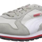 Adidasi originali sport PUMA-piele naturala-alergare-40, 42, 42.5 - Adidasi barbati Puma, Culoare: Gri