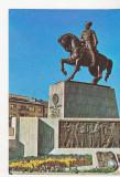 Bnk cp Cluj Napoca - Statuia lui Mihai Viteazul - stampila ocazionala, Circulata, Printata