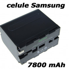 PATONA Premium | Acumulator pt Sony NP F970 NPF970 NP F960 NPF960 7800mAh