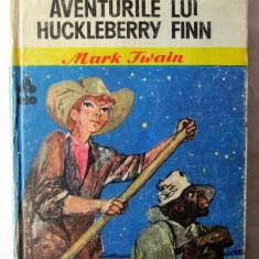 AVENTURILE LUI HUCKLEBERRY FINN, Mark Twain, 1975. Ilustratii de Romeo Voinescu, Alta editura