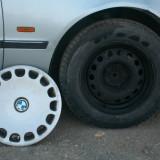 Set jante tabla BMW E39 ( Seria 5 ) cu tot cu cauciuc si capac 205, 65 R15 - Janta tabla