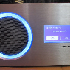 RADIO GRUNDIG GRR 23 INTERNET RADIO - Aparat radio Grundig, Digital