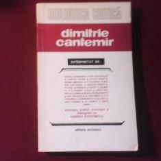 Dimitrie Cantemir interpretat de:, Antologie, prefata de Carmen Dumitrescu