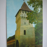 Carte postala / Sibiu, Turnul olarilor (anii 80), Necirculata, Fotografie, Romania de la 1950