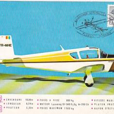 Bnk fil Maxima - Balcaniada aeronautica Ploiesti 1979 - IAR 823
