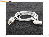 Cablu USB iPhone 3G 3GS 4 4S iPod 2 metri