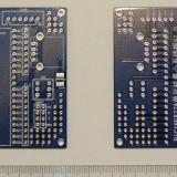 Cablaj placa dezvoltare PIC16F877 A , PIC16F887 ( minimum core system board )
