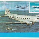 Bnk fil Maxima aviatie - Ziua aviatie RSR 1983 - DC-3