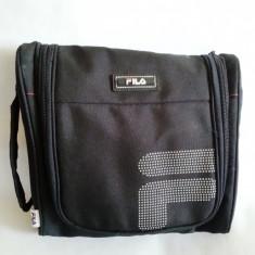 Geanta de mana material textil Fila 23cm - Geanta laptop, Poliester, Negru