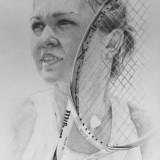 Desen creion Simona Halep (2014) - Pictor roman, Portrete, Carbune, Realism