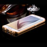Bumper Samsung Galaxy S6 G920F Aluminiu Gold