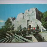 Carte postala / Tirgu Neamt, Cetatea Neamtului (anii 80), Necirculata, Fotografie, Romania de la 1950