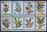 RWANDA 1969 - PLANTE MEDICINALE  8 VALORI, NEOBLITERATE - RW 048