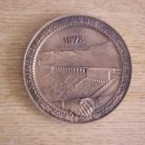 MBDC1 - INAUGURAREA HIDROCENTRALEI DE LA PORTILE DE FIER - ANUL 1972 - Medalii Romania