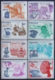 RWANDA 1976 - TELECOMUNICATII 8 VALORI, NEOBLITERATE - RW 049