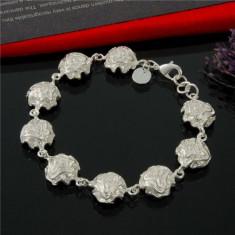 Bratara argint 925; 18.5 - 19.5 cm lungime reglabila