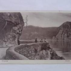 Orsova - Cazane Casan - Carte Postala Banat 1904-1918, Circulata, Fotografie