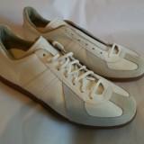 Adidasi din piele culoare alba noi BW Sport 290 mar.43/44 - 30cm