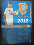 Calendar de perete - Lorand Szilagyi  / FCM Tg.Mures 2011