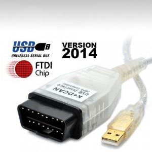 Interfata Diagnoza BMW  INPA K-DCAN,  NOU 2014!! Chip FTDI + Procesor Atmega!