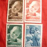 Serie - Pt.Copii 1947 Olanda, 5 val.