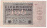 (3) BANCNOTA GERMANIA - 100 MILLIONEN MARK 22 AUGUST 1923 - UNIFATA