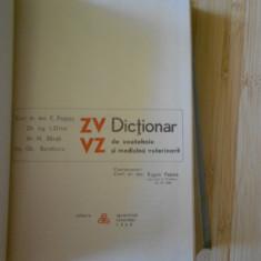 E. PASTEA--DICTIONAR DE ZOOTEHNIE SI MEDICINA VETERINARA - Carti Zootehnie