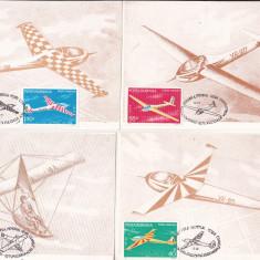 Bnk fil Set 6 maxime - planoare - aeromfila 1983