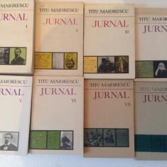 TITU MAIORESCU JURNAL VOL 1-9 - Biografie