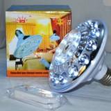 Bec Supereconomic 22 LED-uri cu Acumulator si Telecomanda, Becuri LED