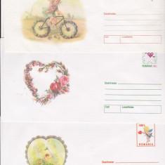 Bnk fil Lot 3 intreguri postale - Ziua indragostitilor