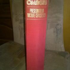 Omagiu Nicolae Ceausescu 1978 - Carte Epoca de aur