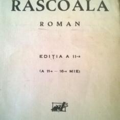 RASCOALA L. Rebreanu Editura Adeverul hârtie filigranată Van Gelder Zonen-20 buc - Carte Epoca de aur, Adevarul