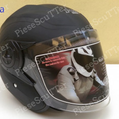 Casca Protectie Moto - Scuter ( casca de vara Open Face - OpenFace ) 59 - 62cm - Casca moto, Marime: L