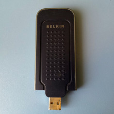 Stick adaptor USB wireless Belkin F5D9050B v3 - Adaptor wireless