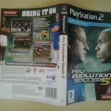 Coperta - Pro Evolution Soccer 5  - Playstation PS2 ( GameLand )