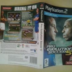 Coperta - Pro Evolution Soccer 5 - Playstation PS2 ( GameLand ), Alte accesorii