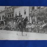 FOTOGRAFIE VECHE  OFITER LA DEFILARE -  10 MAI 1923 (ZIUA NATIONALA A ROMANIEI)