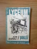 h1b ION BARBU - POEZII