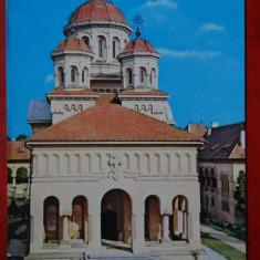 Vedere - Carte postala - Alba Iulia - Catedrala