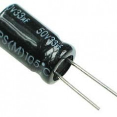 33uF 50V - Condensator
